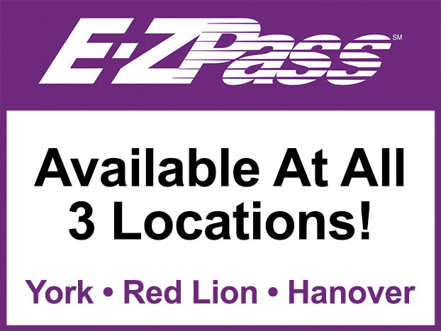 E-ZPass® Transponders Available at all 3 Runkle's locations